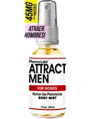 Amazon.com : PhermaLabs Feromonas Body Mist - Body Spray Para Mujer- 1.0 oz- Atraer Hombres instantáneamente- Mayor Concentración De Feromonas Posible- ...