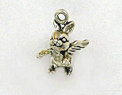 Charms for Bracelets and Necklaces Bunny Charm