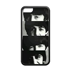 The Beatles Cell Phone Protector for iPhone 5C Plastic and TPU (Laser Technology)