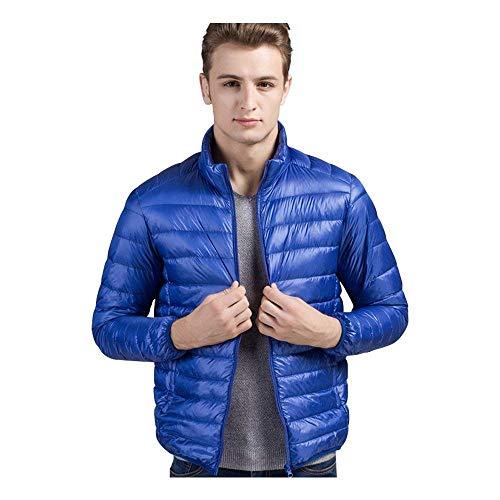 Vestiti Mensola Piumino Comprimibile Ultraleggero Cappotto Tampone Del Isolato Capispalla Maschile Blau Morbido Calda Moda ZIxx7F