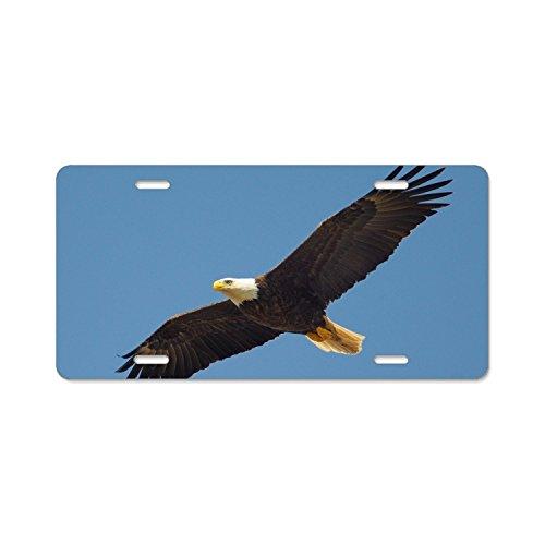 Eagle Flying Home,bathroom and Bar Wall Decor Car Vehicle License Plate Metal Tin Sign ()