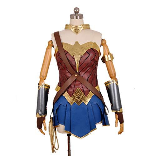 Tinyones Women's Movie Hero Corset and Skirt Costume Set (XXXL) Blue ()
