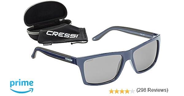 c39ec90a71 Cressi Rio Sunglasses Gafas de Sol, Unisex Adultos, Azul/Gris, Talla única:  Amazon.es: Deportes y aire libre