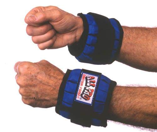 All Pro Exercise Products Adjustable Wrist Weight, 4.3 Pound