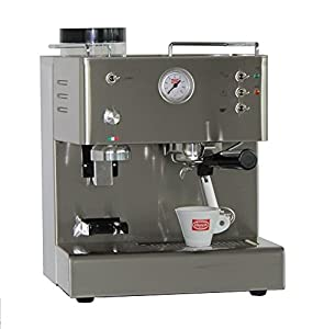 Siebträgermaschine mit integriertem Mahlwerk Quick Mill Pegaso 03035L