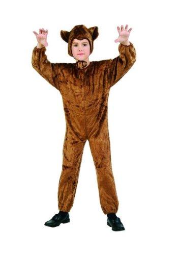 RG Costumes 70075-L Bear Jumpsuit - Plush - Size (Bear Jumpsuit Child Costumes)