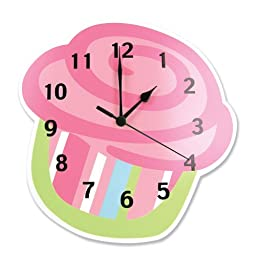 Trend Lab Wall Clock, Cupcake