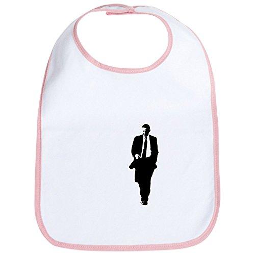 CafePress - Big Obama Silhouette Bib - Cute Cloth Baby Bib, Toddler ()