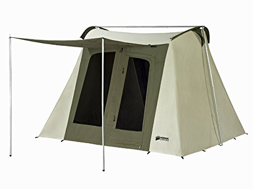 - Kodiak Canvas Flex-Bow 6-Person Canvas Tent, Deluxe