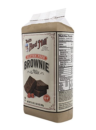 Bob's Red Mill Gluten Free Brownie Mix, 21 Ounce (Pack of 4)
