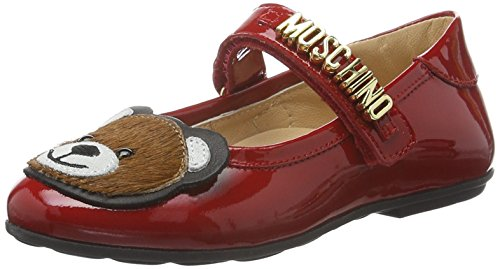 Moschino 25888 - Botas de senderismo Bebé-Niños Rojo - Rot (rot _9105)