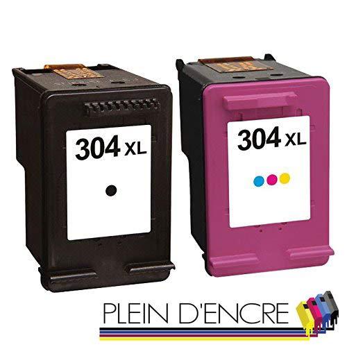 Pack 2 cartuchos de tinta N ° 304 XL/Gran Capacidad/negro y color ...