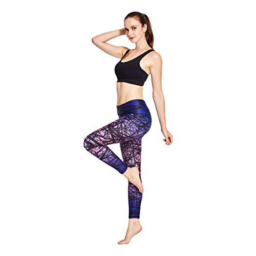 Pantaloni Yoga 3 L Donna Wald A Lunghi Xl Compressione M Sport S 4 Allenamento Coolomg Da Lila Leggings tqnnCY