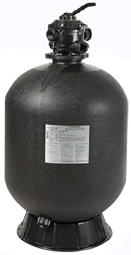 Pentair Sta-Rite 145359 Cristal-Flo II Top-Mount High Rated Pool and Spa Sand Filter, 35-GPM, Black by Pentair