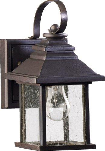 Quorum Outdoor Lighting - Quorum 7940-5-86 Pearson Outdoor Wall Sconce, 1-Light, 60 Watts, Oiled Bronze
