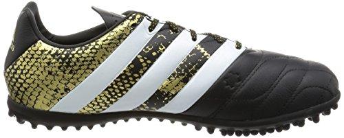 Ftwbla negbas Dormet Chaussures De Noirs En Ace Football Pour Cuir Les 3 Tf Hommes Adidas 16 A6aFnO