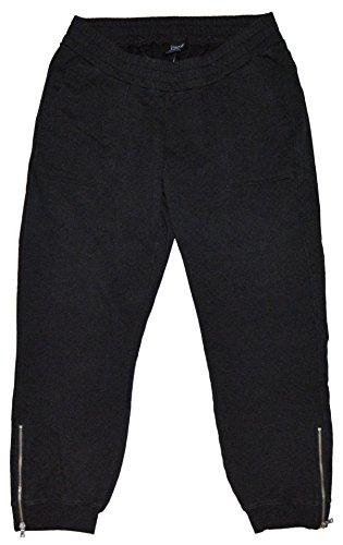 - GAP Maternity Black Knit Zip Leg Jogger Pants Large