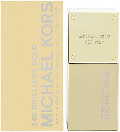 Michael Kors 24k Brilliant Gold Eau de Parfum Spray for Women, 1 Ounce