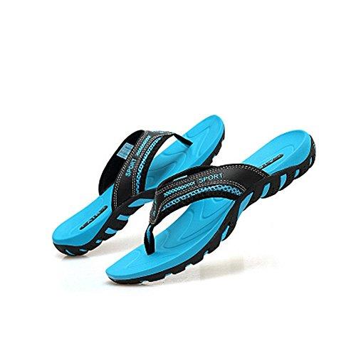 bagnato da Sandalo antiscivolo da spiaggia Melodycp uomo pelle estive e Blu da Infradito 24 in da Impermeabile Sandali Scarpe uomo 5 27 cm estivi uomoCasual YwO0Zw