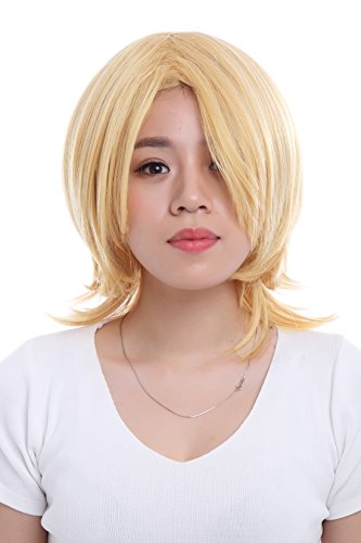 30cm Short Blonde Kagamine Rin Cosplay Wig Ml01