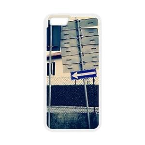 DIY Printed street hard plastic case skin cover For iPhone 6 4.7 Inch SN9V592971