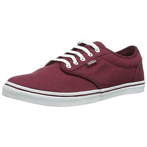 b2f2fbd5ecbe hot sale Vans Atwood Low Women US 6.5 Burgundy Skate Shoe ...