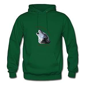 Women Howling...your Case Sweatshirts -x-large Creative Designed Green