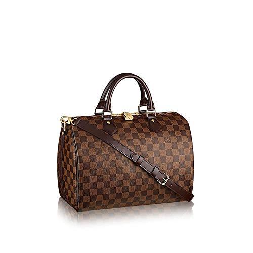 Louis Vuitton Damier Ebene Canvas Speedy Bandouliere 30 N41367 ()