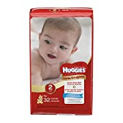 Huggies Little Snugglers Baby Diapers, Size 2, 32 Count, JUMBO PACK (Packaging May Vary)