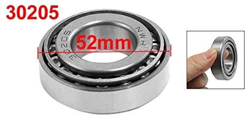 SALAKA 25 mm x 52 mm x 16.25 mm 30205 Accesorios de enrutador de rodamiento de Rodillos c/ónicos de una hilera