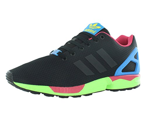 Adidas Men's Zx Flux Originals Cblack/Cblack/Sgreen Running Shoe 10 Men US