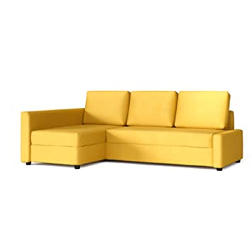 Pleasing Tlyesd Friheten Slipcover For The Ikea Friheten With Chaise Corner Cover Sofa Bed Cover Sectional Slipcover Replacement Yellow Polyester Ibusinesslaw Wood Chair Design Ideas Ibusinesslaworg