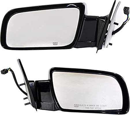 1988-1998 Chevrolet K1500 Driver Side Manual Mirror Assembly