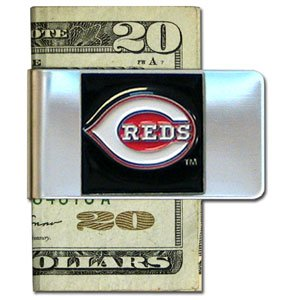 MLB Cincinnati Reds Large Money Clip