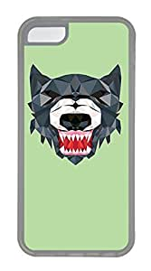 LJF phone case iphone 6 4.7 inch Cases - Wholesale Summer Cool TPU Transparent Cases Personalized Design Tiger