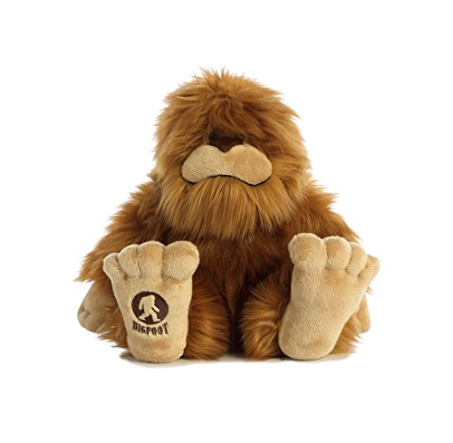 "Bigfoot Sauquatch Large Plush Stuffed Animal  16.5"" , Aurora"