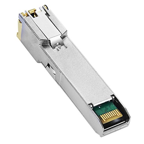 Macroreer Ubiquiti Compatible 10/100/1000BASE-T Copper SFP Transceiver RJ45 100m by Macroreer (Image #3)