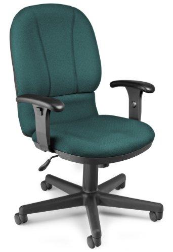 Ofm posture series task chair teal 640-240