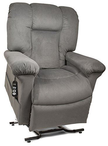 - StellarComfort UC520 Tall Zero Gravity Lift Chair Recliner with Comfort Coil Seating - Thunder (Curbside Delivery)