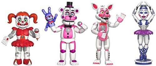 Funko Five Nights At Freddy's Sister Location 4-Pack Set 2""
