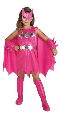 Pink Batgirl Child Costume - Medium -