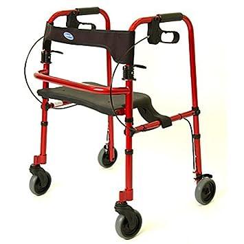 Amazon.com: Invacare Rollite Andador Walker – Adulto – Rojo ...