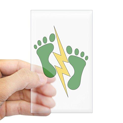 green feet stickers - 1