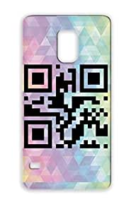 Qr Code Number 55 Symbols Shapes For Sumsang Galaxy S5 Black Case