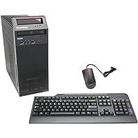 Lenovo ThinkCentre E73 10AS00DDUS Desktop Intel Core i3, 4 GB DDR3, 500 GB Hard Drive, Windows 7 Pro (Black)