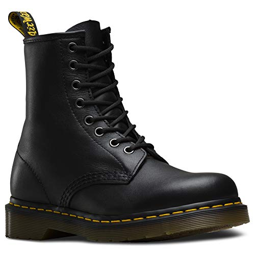 Dr. Martens Men's 1460 Re-Invented 8 Eye Lace Up Boot,Black Nappa Leather,7 UK (8 M US Mens) ()