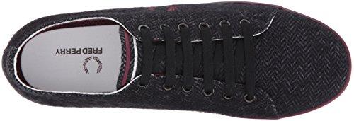 Fred Perry Kingston Tweed Charcoal B9095491, Basket
