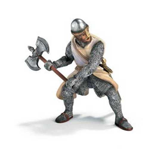 - Schleich Crusader - Foot Soldier with Battleaxe