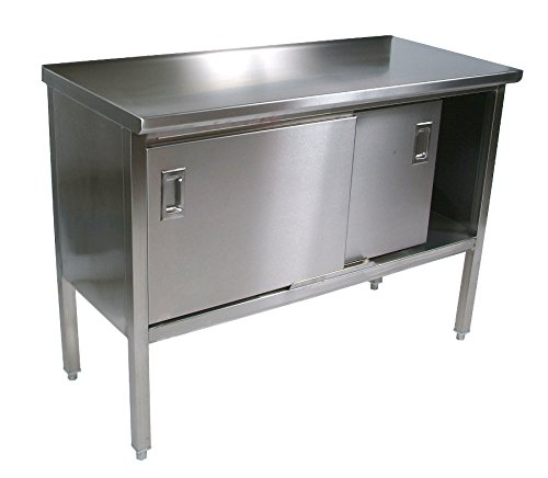 John Boos Stainless Steel Kitchen Island - Cucina Marcella (96 in. x 30 in.)