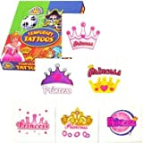 """Princess tattoos, pack of 24"""